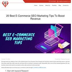 20 Best E-Commerce SEO Marketing Tips To Boost Revenue - Mount Web Tech