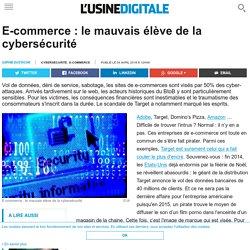 E-commerce : le mauvais élève de la cybersécurité