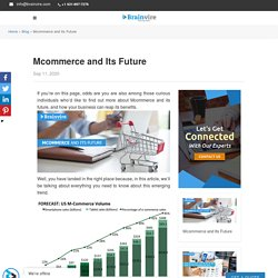 Mcommerce and Its Future