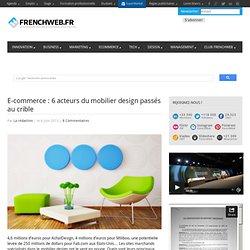 E-commerce : 6 acteurs du mobilier design passés au crible