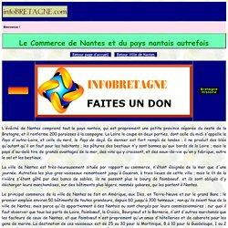 Commerce de la ville de Nantes et du pays nantais avant la Révolution