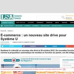E-commerce : un nouveau site drive pour Système U