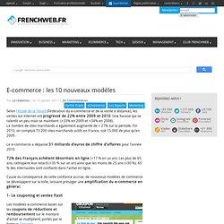 E-commerce : les 10 nouveaux modèles