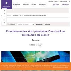 E-commerce des vins : panorama d'un circuit de distribution qui monte