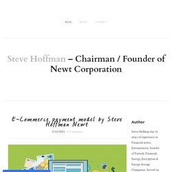 E-Commerce payment model by Steve Hoffman Newt