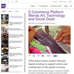E-Commerce Platform Blends Art, Technology and Social Good