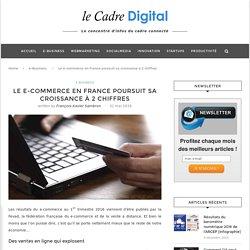 Le e-commerce en France poursuit sa croissance à 2 chiffres - Le Cadre Digital