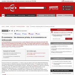 E-commerce : les dessous prisés, le m-commerce en embuscade NetPME