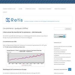 L'e-commerce : quelques chiffres - RETIS