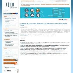 Le marché du e-commerce représente 64,9 milliards d'euros en 2015 selon la Fevad