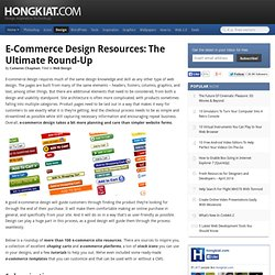 E-Commerce Design Resources: The Ultimate Round-Up | Graphics