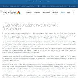 E-Commerce Shopping Cart Design & Development in UK – YNG Media