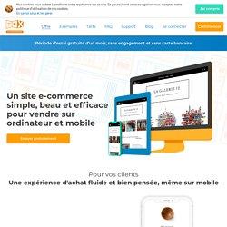 Box e-commerce: Solution de création de site Internet