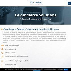 E-Commerce Solutions-Web-Mobile Apps-US, India-TULI eServices
