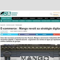 E-commerce : Mango revoit sa stratégie digitale