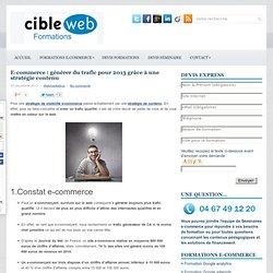E-commerce : générer du trafic pour 2013 grâce à une stratégie contenu
