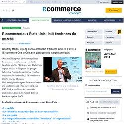 E-commerce aux États-Unis: huit tendances du marché