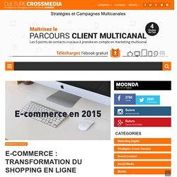 E-commerce : transformation du shopping en ligne