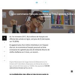 Le e-commerce français confirme sa (très) grande forme au 1er trimestre