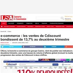 e-commerce : les ventes de Cdiscount...