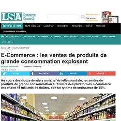 E-Commerce : les ventes de produits de grande...