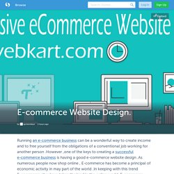 E-commerce Website Design. (with image) · gurleenkaur