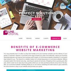 e-commerce website marketing online