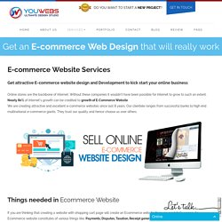 Ecommerce Website Development Company - youwebstudio.com