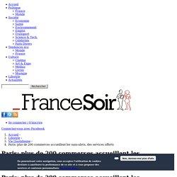 Paris: plus de 200 commerces accueillent les sans-abris, des services offerts