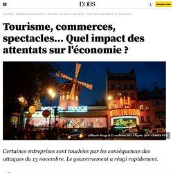 Tourisme, commerces, spectacles… Quel impact des attentats sur l'économie ? - 26 novembre 2015