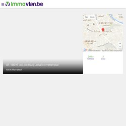 Local commercial à acheter, Maroc, Marrakech 41.090 € (450.000 MAD) - Immo.Vlan.be
