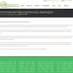Commercial Cleaning Services Alphington