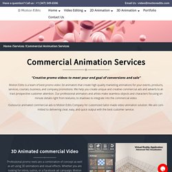 TV Commercial Animation Services