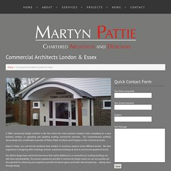Commercial Architects London By Martyn Pattie