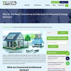 Get Best Commercial Architectural Services in DC