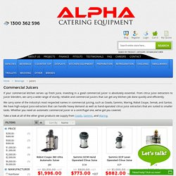 Buy Commercial Juicers Online, Juicer Shopping Australia