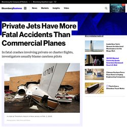 More People Die on Private or Charter Jets Than Flying Commercial