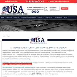 Commercial Building Design Trends