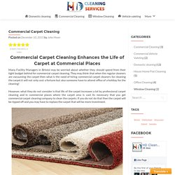 Commercial Carpet Cleaning – HD Clean