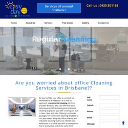 Commercial cleaning Brisbane - best Office Cleaners Brisbane