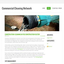 Commercial Cleaning Network - Blog