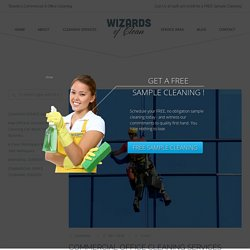 Commercial Office Janitorial Services