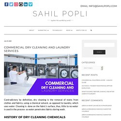 Commercial Dry Cleaning and Laundry Services