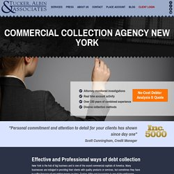Commercial Collection Agency New York