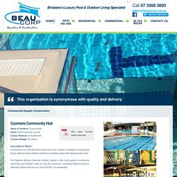 Commercial Pool Builders Brisbane