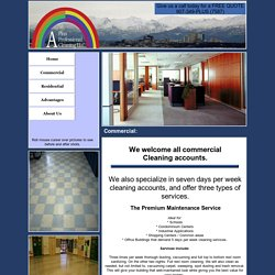 Commercial Cleaning and Construction Clean up Services Anchorage