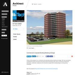 3D Commercial & Corporate Building Modeling & Design