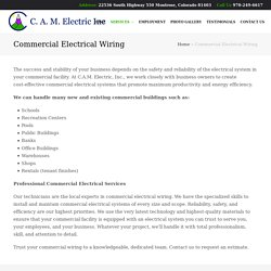 Commercial Electrical Services Ouray CO