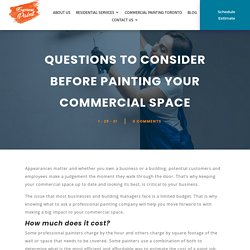 Questions to Consider Before Painting Your Commercial Space - ExpressPaint