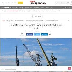 Le déficit commercial français s'est réduit en avril 2015 - L'Express L'Expansion